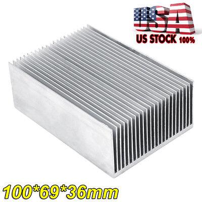 Heatsink Aluminum Heat Sink Fit For Led Transistor Ic Module Power Industry Usa