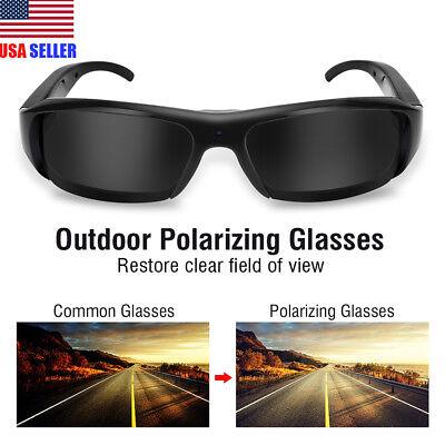 1080P HD Hidden Camera Glasses Video Recording Sports Sunglasses DVR Eyewear (Sunglasses Hidden Camera)