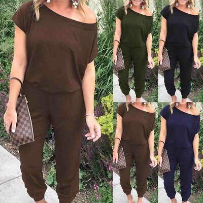 Women Sleeveless Cotton Linen Loose Wide Leg Jumpsuit Overall Long Trousers Pant