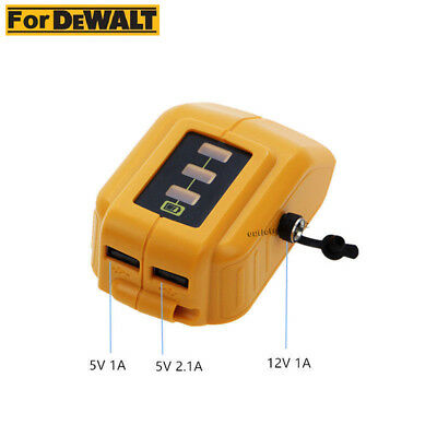 New Battery Usb Charger For Dewalt 12v20v Max Heated Work Jacket Adapter Dcb091