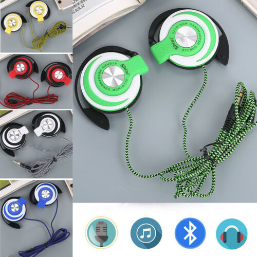 Wired Foldable Headphone Over the Ear Headset Stereo Super B