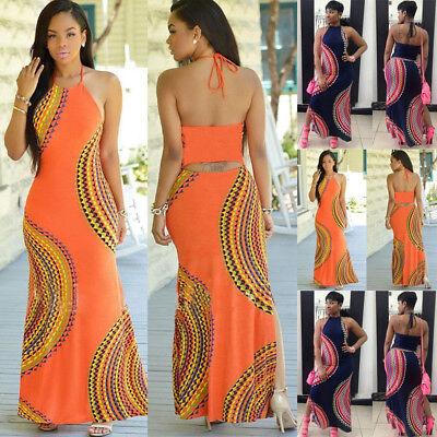 Fashion Women Summer Dress Maxi Long Evening Party Dress Beach Dress Sundress US - Fashion Party