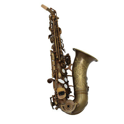 Musical Instruments & Gear Walt Johnson Curved Soprano Case Xlnt Condition Saxophones
