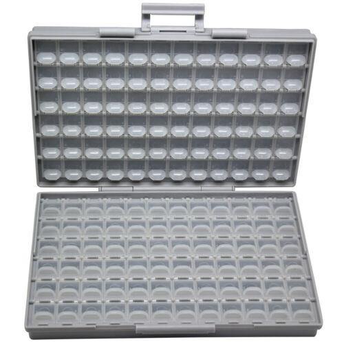 AideTek BOX-ALL-144 tiny components surface mount parts Organizer Storage lids