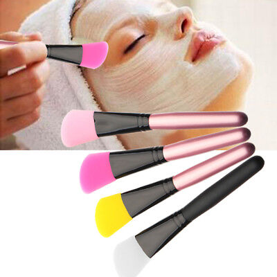 (Super Soft Silicone Facial Face Mask Mud Mixing Makeup Brush Applicator Tool Hot)