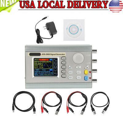 60mhz Dual-channel Dds Arbitrary Waveform Function Signal Generator Counter Kit