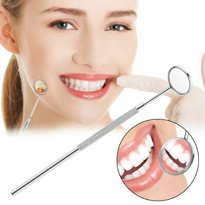 1 Pc Teeth Clean Oral Stainless Steel Mouth Mirror Dental Instruments Ss Dentist