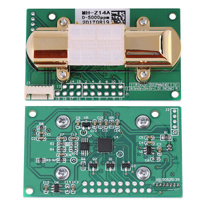 Ndir Co2 Sensor Module Board Mh-z14a Serial Port 0-5000ppm Pwm Analog Output