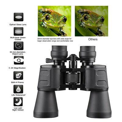 Day Night Vision 180x100 HD Zoom Binoculars Outdoor Hunting Camping Telescope