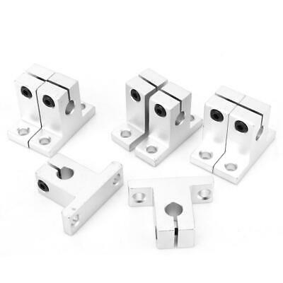 8pcs Sk8 Bearing Linear Rail Shaft Guide Support Stand Aluminum Alloy