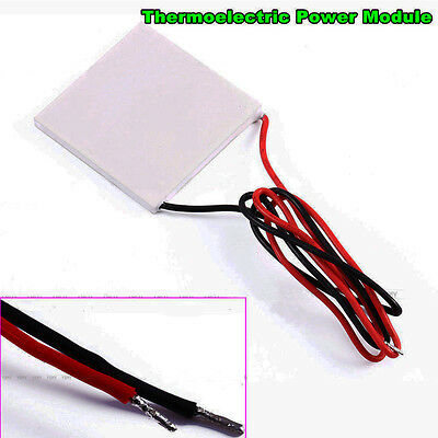 Thermoelectric Power Generator Peltier Module TEG 40x40mm High Temperature 150℃