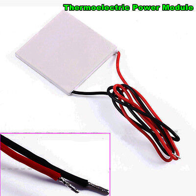 Thermoelectric Power Generator Peltier Module Teg 40x40mm High Temperature 150
