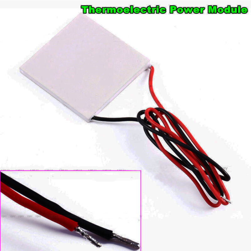 Thermoelectric Power Generator Peltier Module TEG 40x40mm High Temperature
