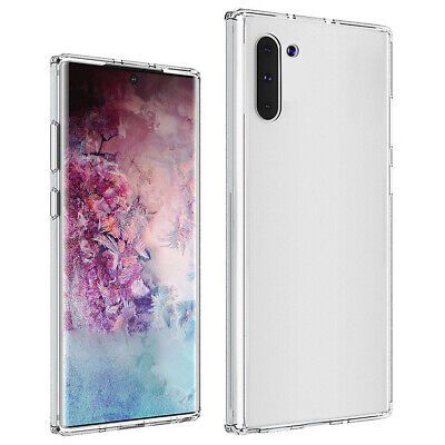 Best Samsung Note 10 Plus Clear Phone Back Case Shockproof Protective Cover