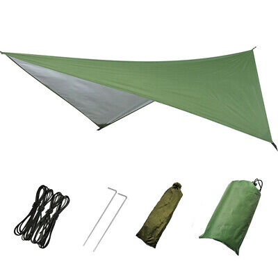 Large Lightweight Waterproof Camping Tent Tarp Shelter Hammock Rain Fly Cover US