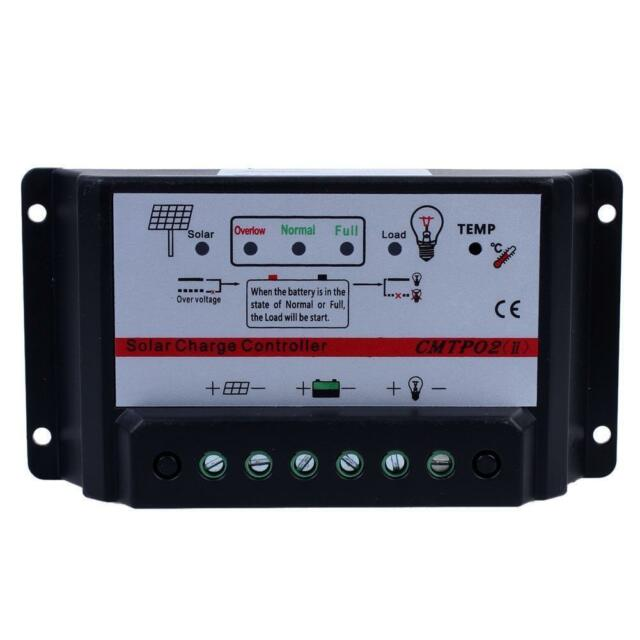 30A 12V/24V Auto Switch MPPT Solar Panel Battery Regulator Charge Controller Iq