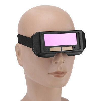 Solar Auto Darkening Welding TIG MIG Goggle Welder Eyes Glass