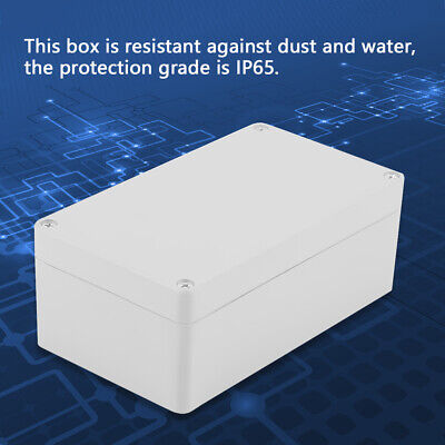 Waterproof Electrical Enclosure Junction Box Connector Terminal Wire Cable -
