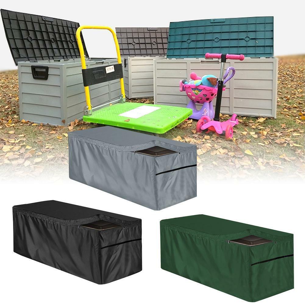 Patio Garden Deck Box Cover Outdoor Waterproof Storage Box C