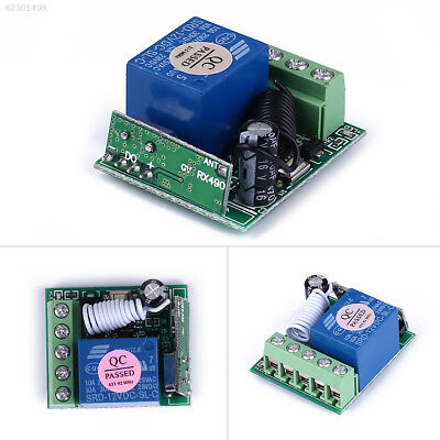 86FD 315MHz/433MHz 1 CH Channel Wireless Relay RF Remote Control Switch Module ()