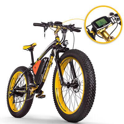 RICHBIT 48V 1000W Bicicleta Eléctrica Motor Gran Alcance 17ah Batería De Litio
