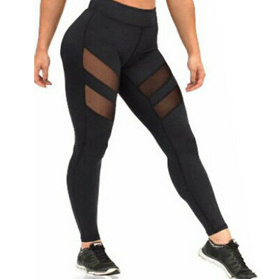 Athletic Pants Sports YOGA Workout Gym Fitness Leggings Jumpsuit Clothes Womens
