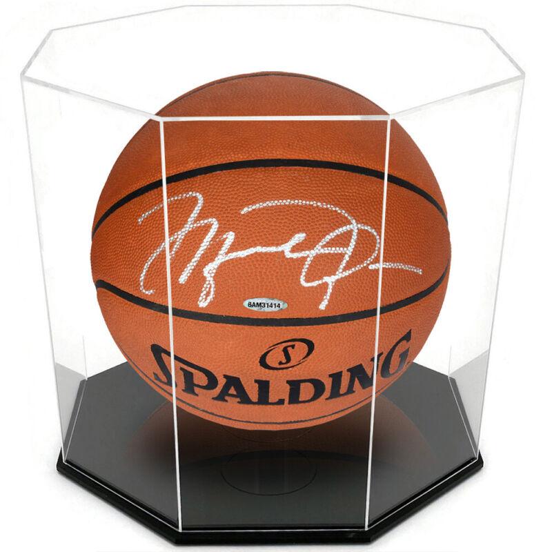 Ondisplay 5mm Acrylic Octagon Basketball/soccer Ball Display Case-uv Protected