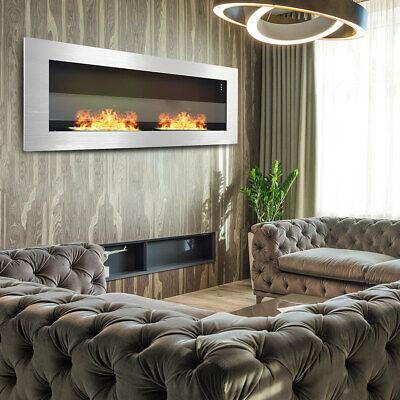 Wall Insert Bio Ethanol Fireplace Ethanol Indoor Burner Fire Pit 900 x 400/GLASS