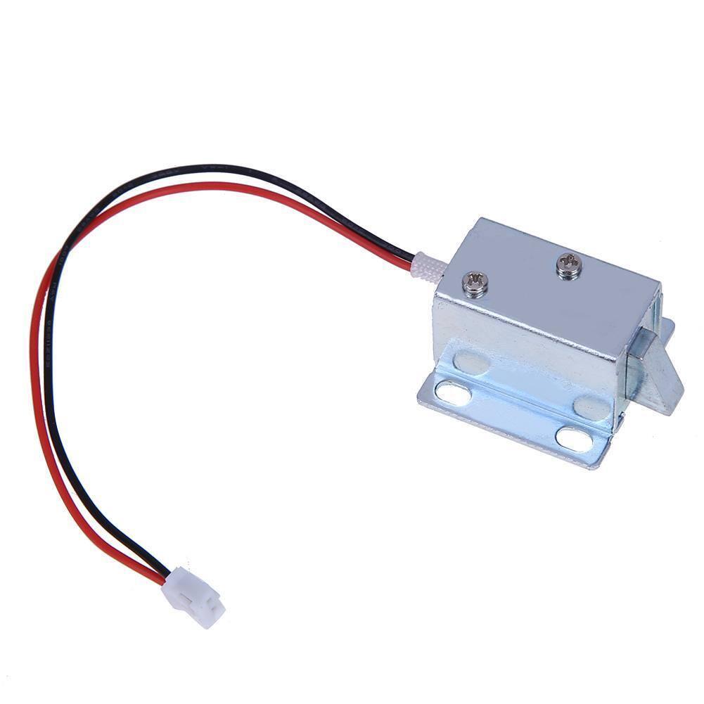 6V/12V Mini Electric Magnetic Lock Auto Access Control Cabinet Lock Door D #EAL