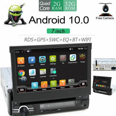 1DIN RADIO DE COCHE ANDROID 10.0 GPS NAVI AUX RDS MP3 MP5...