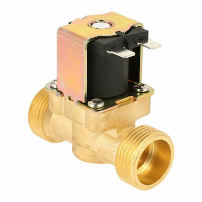 34 Dc 12v Electric Solenoid Valve Air Water Gas Brass Nc Normal Closed