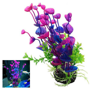 Artificial Fake Fish Tank Plants Aquarium Aquatic Decoration Ornament Flower