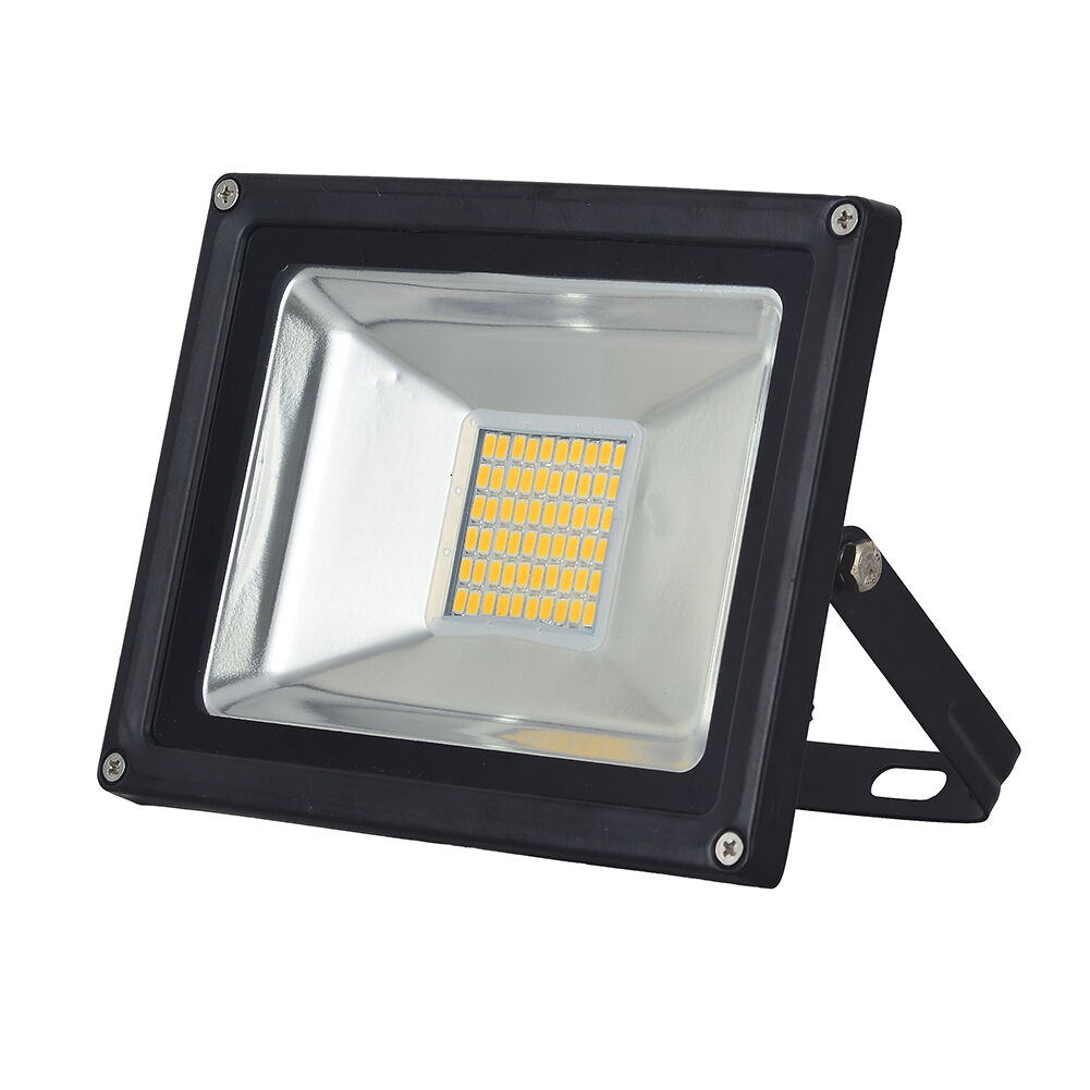 8x 30w warm white led flood light lamp landscape outdoor. Black Bedroom Furniture Sets. Home Design Ideas