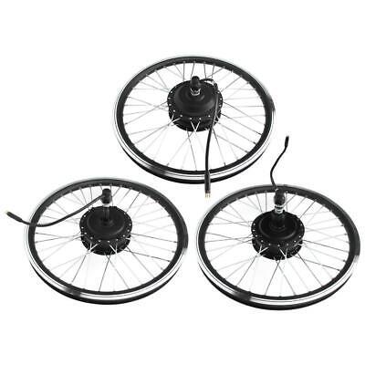 Bicicleta Eléctrica Ebike Kit Conversion Motor Hub Para Rueda Delantera/trasero