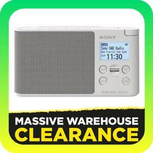 Sony XDR-S41DB Portable DAB/DAB  Radio White RRP $149 Tullamarine Hume Area Preview