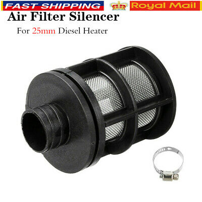 25mm Air Intake Filter Silencer For Dometic Eberspacher Webasto Diesel Heater UK