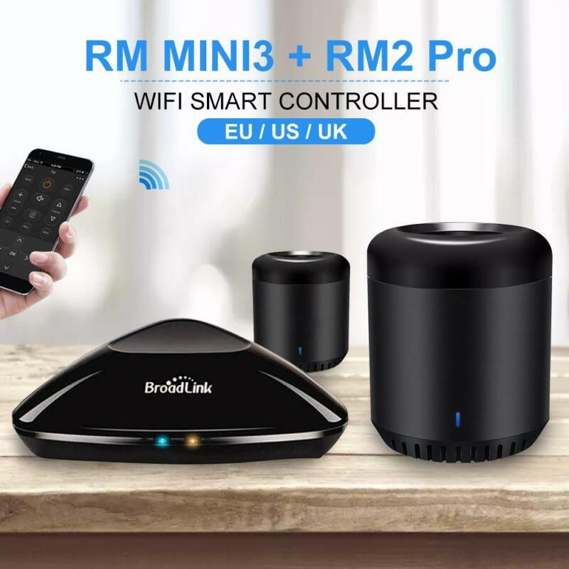 Details about New Broadlink Bean RM Mini3 WiFi/IR Smart Home Remote  Controller App Control