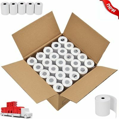50 Rolls Credit Card Register Pos Thermal Receipt Paper 2 14 X 50 For Ict220