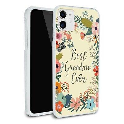 Best Grandma Ever Floral Apple iPhone 8, 8 Plus, X, 11