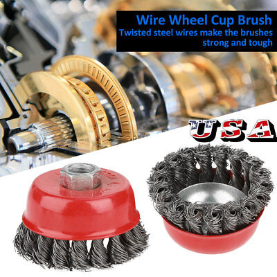 (4 x Wire Cup Brush Wheel 3