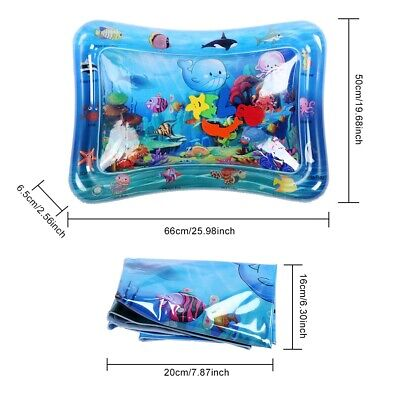 Wocume Inflatable Play Mat Infants Infant Baby Water Play Floor Mat Children