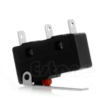 10pcs 250v Cnonc Micro Limit Sensor Switch Roller Arm Lever Subminiature 3a Ac