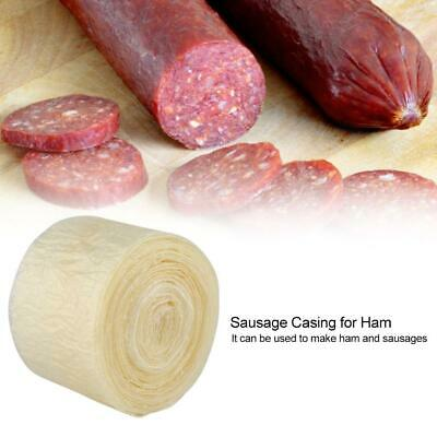 Natural Sausage Casing Skins Collagen Casings For Smoked Fresh Hot Dog 8m 50mm