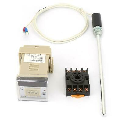 E5c4-r Digital Temperature Controller Thermostat With K-type Thermocouple Probe