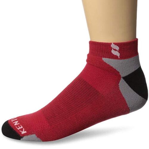Kentwool I1205 - Tour Profile Golf Socks - Red/Grey/Black - Closeouts