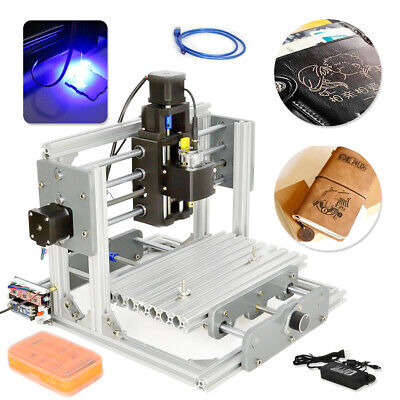 2417 Mini Engraving Milling Machine Engraver Diy Cnc Router Pcb Metal Desktop