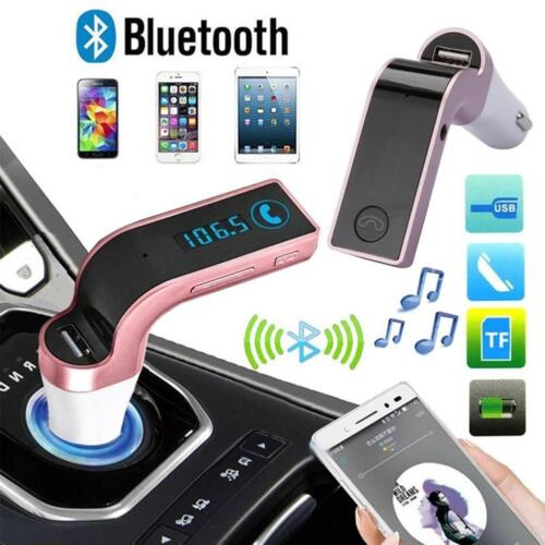 G7 Hands-free Bluetooth Car Kit FM Transmitter USB Charger Adapter MP3 Players