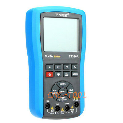 Et310a 2in1 Portable Digital Storage Oscilloscope Multimeter 10mhz 50msas Trms