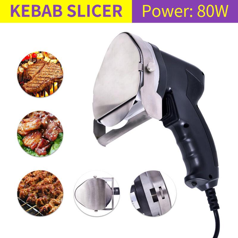 Electric Kebab Cutter Slicer Meat Knife Doner Shawarma Cutting Machine