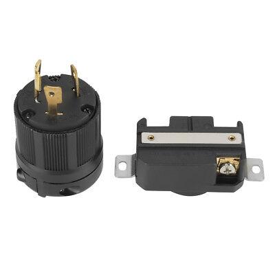 Nema L6-30p L6-30r 250v Twist Lock Electrical 3pin Plug Receptacle Male Female